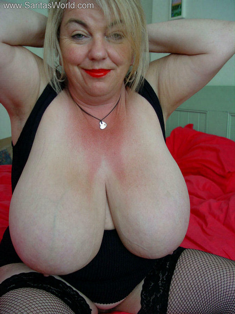 image Big tit bbw granny takes dark meat